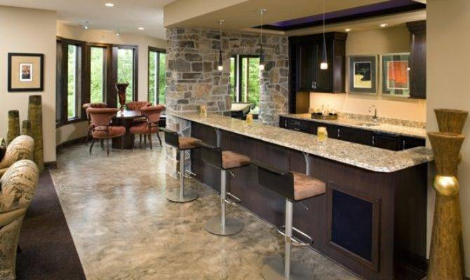 Basement Wet Bar Design Home Decoration Live