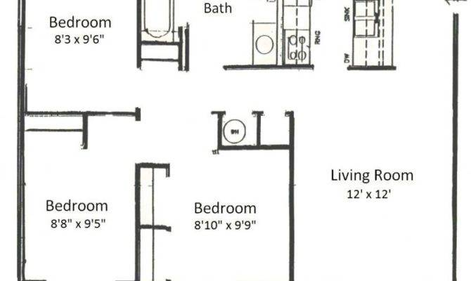 Basham Rentals River Bedroom Floor Plans
