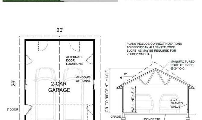 Basic Car Garage Plan Behm Design