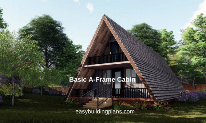Basic Frame Cabin Easybuildingplans