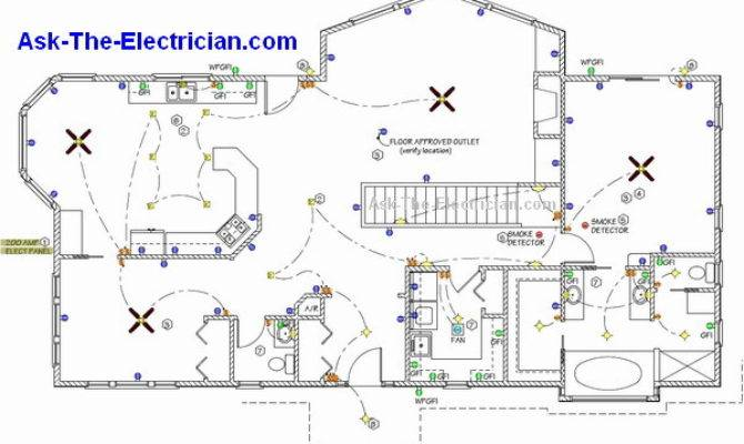 Basic Home Wiring Plans Diagrams