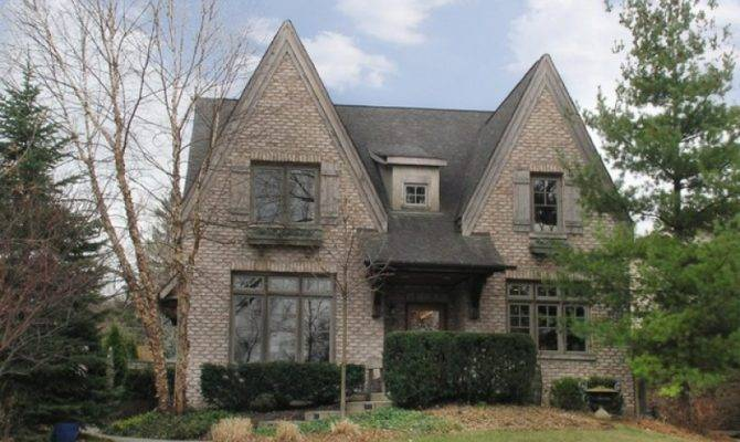 Bath Brick Tudor Style Home Sits Meticulously Landscaped