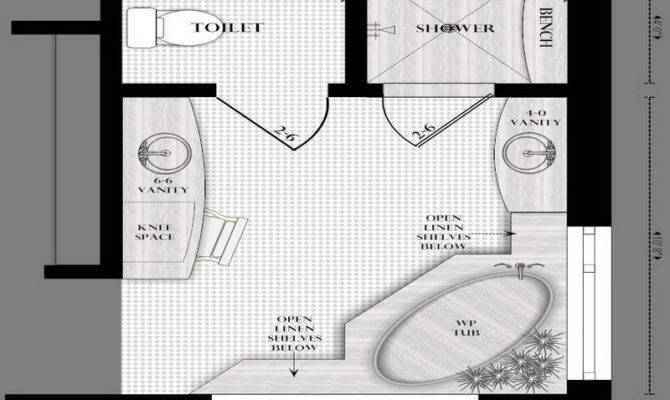 Bathroom Design Master Layouts