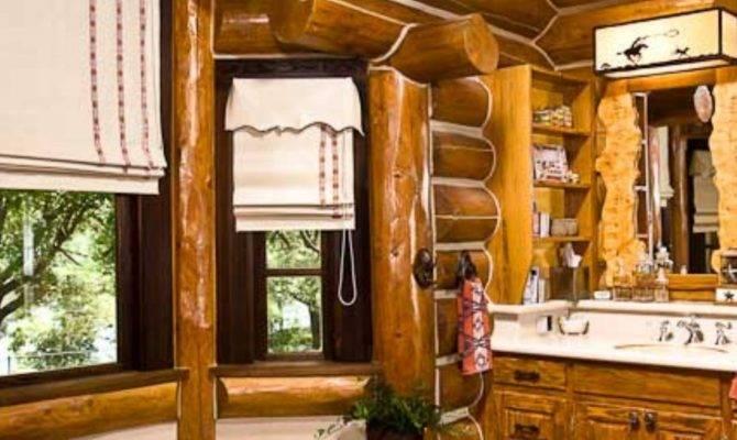 Bathroom Designs Rocky Mountain Log Homes Style Estate