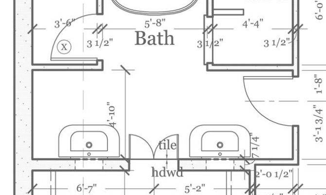 Bathroom Floor Plans Closets Bath Great