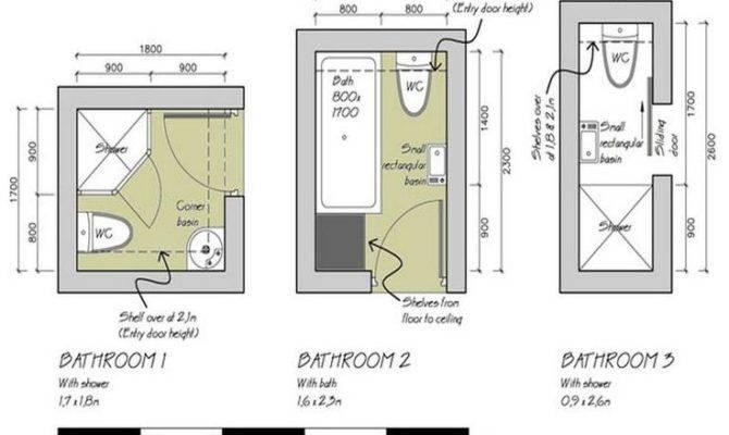 Bathroom Floor Plans Design Ideas More Small