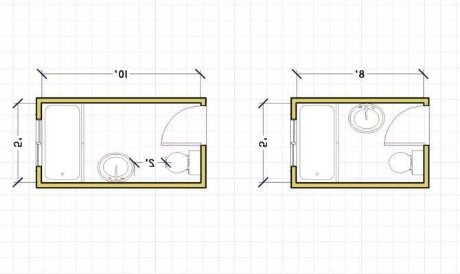 Bathroom Floor Plans Small