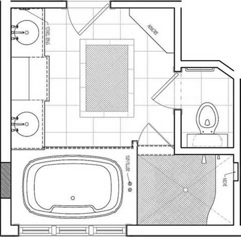 Bathroom Inspiring Floor Plans - House Plans | #157876