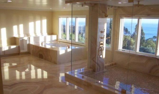 Bathroom Large Master Bath Showers Ideas