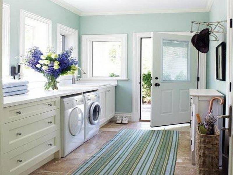 Bathroom Laundry Room Layout Design Ideas House Plans 23701