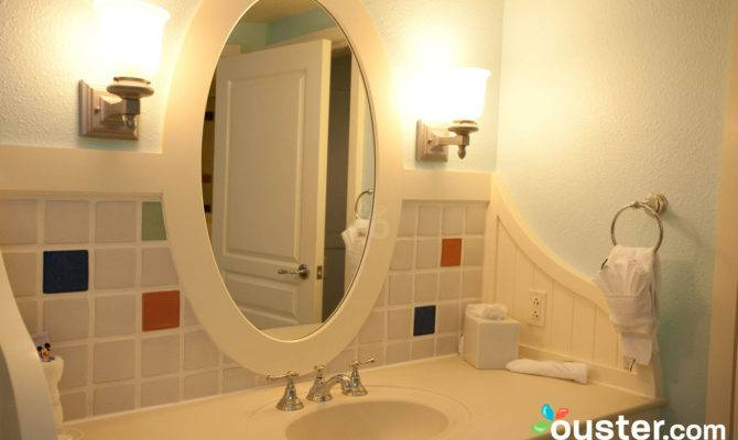 Bathroom One Bedroom Villa Disney Boardwalk