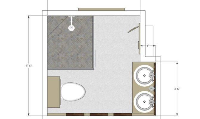 Bathroom Plans Layout