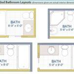 Bathroom Plans Small Design Guest Backyards House