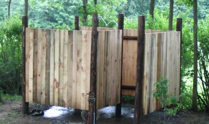 Bathroom Unusual Outdoor Shower Designs They Love