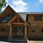 Bavarian Hybrid Home Alpine Log Mountain Homes