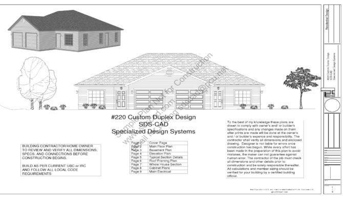 Bdrm Bath Duplex Apartment Plans
