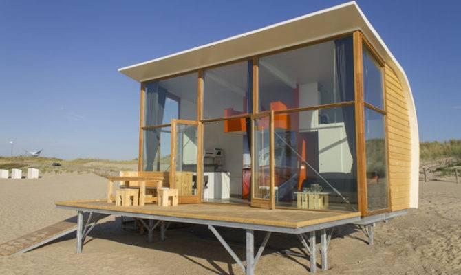Beach Cabin Tiny House Living
