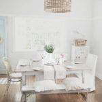 Beach Cottage Rustic Table Gets Electric Life