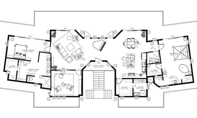 Beach House Floor Plans Interior
