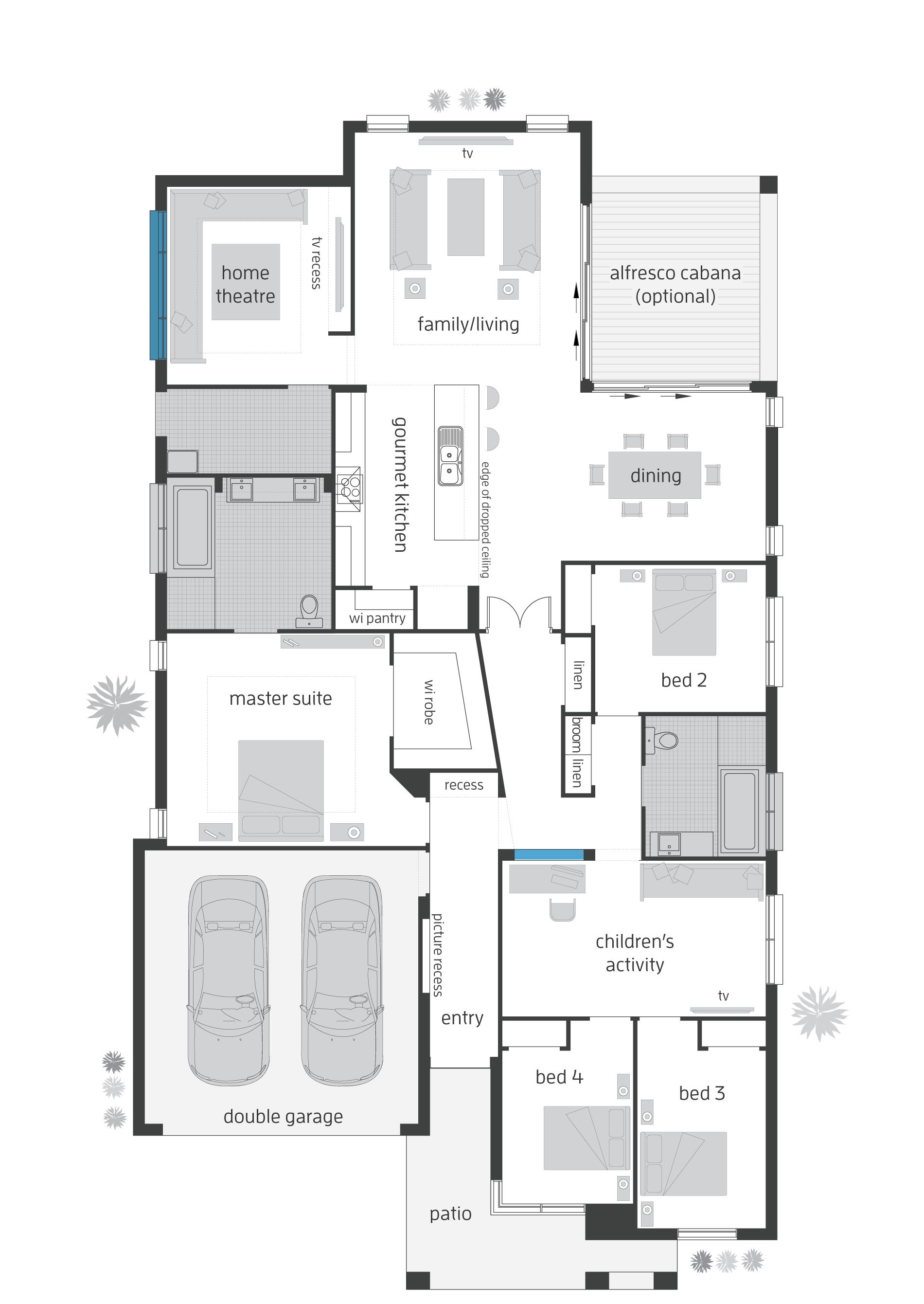 Beach House Floor Plans New Zealand Home Deco House Plans 137138