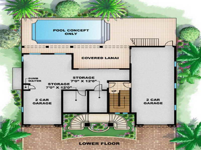 Beach House Floor Plans House Plans 64554