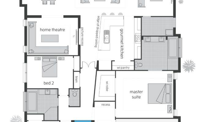 Beach House Floorplans Mcdonald Jones Homes