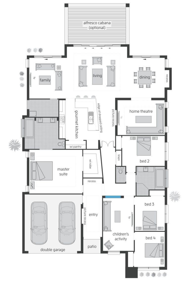 Beach House Floor Plans Utamasafety