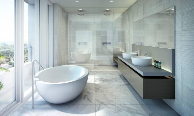 Beach House Miami Luxury Condos Bathroom New Build