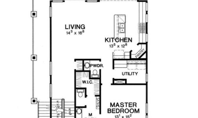 Beach House Plan Bedrooms Baths
