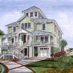 Beach House Plan Cupola Architectural