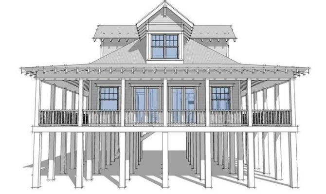 Beach House Plans Coastal Home