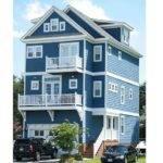 Beach House Plans Narrow Lot Home Plan