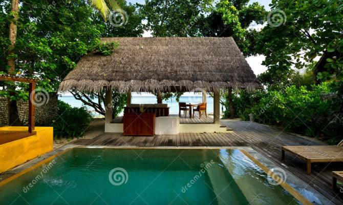 Beach House Private Swimming Pool