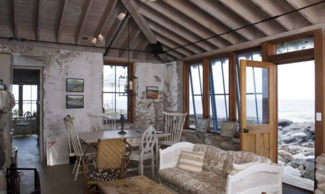Beach House Rustic Industrial Accent Interior Design
