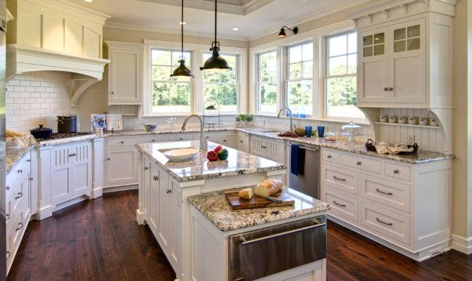 Beach House Style Kitchen Colonial Craft Kitchens Inc Custom