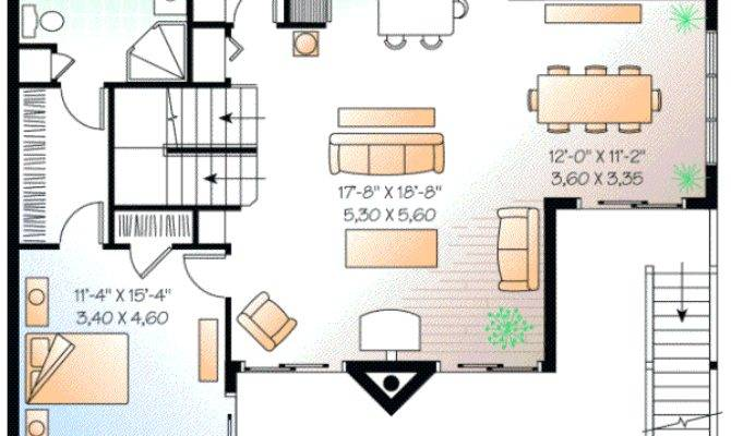 Beach Style House Plans Square Foot Home Story