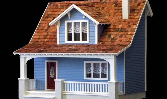 Beachside Bungalow Dollhouse Kit Real Good Toys