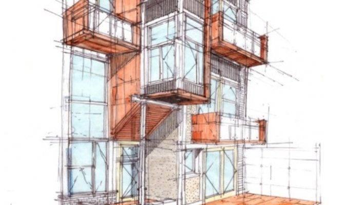 Beautiful Architecture Drawings