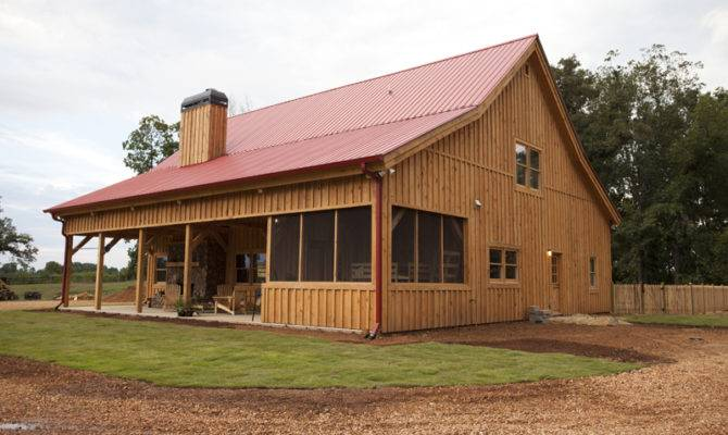 Beautiful Barn Home Widows Peak