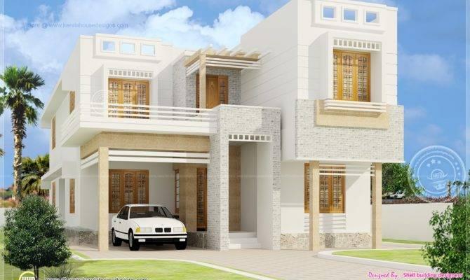 Beautiful Bedroom House Exterior Elevation Kerala Home