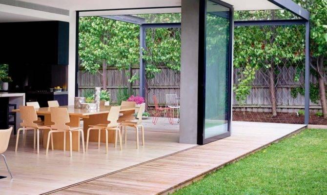 Beautiful Blended Outdoor Indoor Living Space Design Ideas