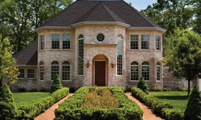 Beautiful Brick Homes Rich