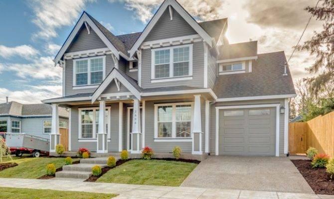 Beautiful Craftsman Homes Portland Oregon Cascade