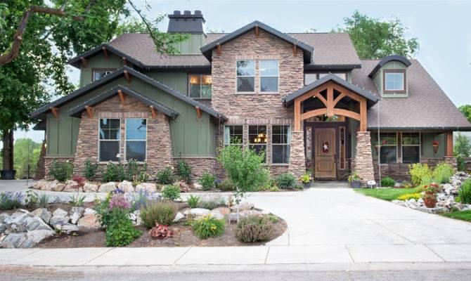 Beautiful Craftsman Salt Lake City Home Design
