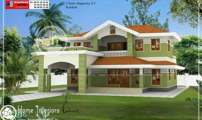 Beautiful Double Floor Home Design Plan