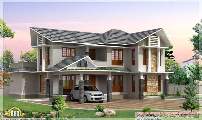 Beautiful Double Storey Houses Yards House