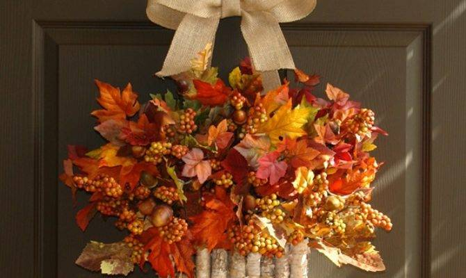 Beautiful Fall Wreath Ideas Rich Colors Welcome