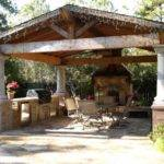 Beautiful Gazebo Fireplace Ideas Both Unit