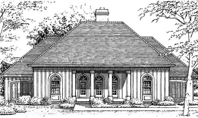 Beautiful Hip Roof House Plans