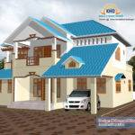 Beautiful Home Elevation Design Kerala